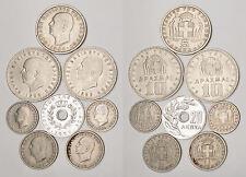 MONETE MONDIALI ( Lotto FD.172) GREECE coins lot / 8 pcs.