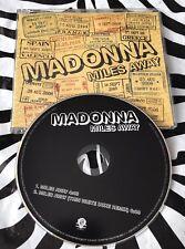 Madonna - Miles Away Rare CD Single