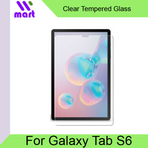 Clear Tempered Glass Screen Protector For Samsung Galaxy Tab S6 T860 T865