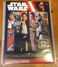 TOPPS JOURNEY TO STAR WARS THE FORCE AWAKENS COMPLETE SET + 5 LIMITED EDITIONS