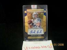 2015 Prizm NFL Patented Penmanship GOLD #4 Andrew LUCK #4/10 Autograph Autp SSP