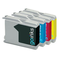 4 Ink Cartridges (Set) compatible with Brother MFC-260C MFC-5860CN MFC-240C