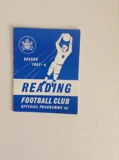 Reading Teams O-R Football League Fixture Programmes
