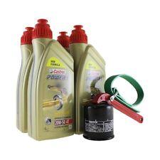 Öl Wechselset 4 Liter Castrol SAE 20W-50 Act evo 4T mineralisch inkl. Ölfilter C