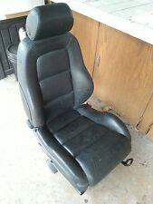 AUDI TT SEAT KIT SET BLACK LEATHER BEAUTIFUL NEW FRONT SEAT KIT NEW