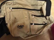 Cotton Traders Canvas Shoulder City Bag Beige/Zip/Pockets/Adjustable/Travel/NEW