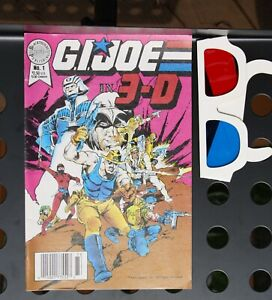 GI Joe in 3D Comic  #1 Blackthorne Publishing, 1987
