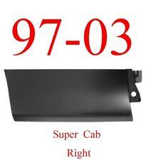 97 03 Ford Right Rear Outer Door Bottom Skin, Super Cab Trucks 1984-174
