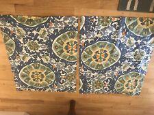 Pottery Barn Caesarea Israel Floral Botanical Pillow Sham Set standard size