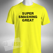 Super Smashing Great Mens T-Shirt Funny Taylor Van Gerwen Barney Darts Jim Bowen