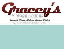 -Daphne Blue- Gracey's Vintage Finishes Nitrocellulose Guitar Lacquer Aerosol.
