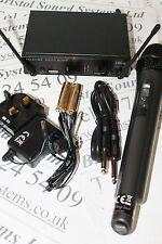 STAGELINE TXS-611SET MANO UHF Radio Microfono Systems. lisence libero