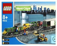NEW Lego 9V TRAIN World City 4512 Cargo Train SEALED