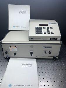 Laser Photonics LN107 Narrow Band Picosecond Dye Laser w/ L-Scan Grating Driver