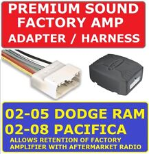 02 03 04 05 DODGE RAM INFINITY JBL ALPINE CAR STEREO RADIO PREMIUM SOUND ADAPTER