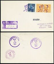 Lion In Purple Fancy Cancel On Lanesville, IL Cover RARE!!! - Stuart Katz
