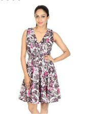 Rajrang Ladies Short, Sleeveless Dress, Elastic waist, Sz. Md.