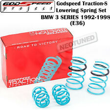 GODSPEED TRACTION-S LOWERING SPRINGS SUSPENSION FOR BMW 3 SERIES 1992-1998 E36