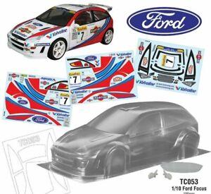 Ford Focus WRC for Tamiya tt01 tt02 tl01 tb01