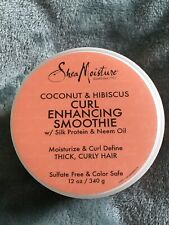 Shea Moisture Coconut and Hibiscus Curl Enhancing Smoothie Conditioner - 340 g
