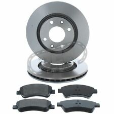 Peugeot 208 2012-2018 1.0 1.2 1.4 1.5 1.6 266mm Front Vented Brake Discs & Pads