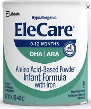 New listing 1   Sealed Cans EleCare DHA/ARA Infant Formula, 14.1oz,( Dents ) exp . Date 2022