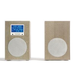 Tivoli Audio Networks Radio+/Speaker - Stone Grey, FM, DAB+, Internet, WiFi