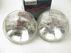 (x2) Headlight Bulb Wagner  H5001 HIGH BEAM FOR 4-Lamp System