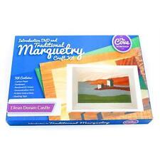 Eilean Donan Castle tradizionale marquetry Kit artigianale con libera DVD 260x188mm