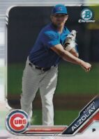 2019 BOWMAN CHROME PROSPECTS RC ADBERT ALZOLAY CHICAGO CUBS ROOKIE - C4538
