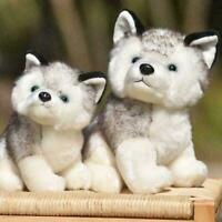 Plush Doll Soft Toy Stuffed Animal Cute Husky Dog Baby Pet Toys Kids S7V1 O8S8