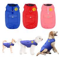 Waterproof Dog Coat Paw Chihuahua Clothes Pet Jacket Reversible Vest Dog Shoes