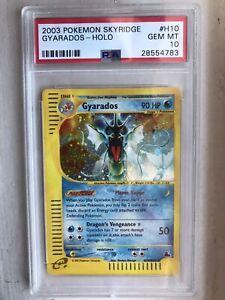 Pokemon Skyridge Gyarados Holo Rare H10 PSA 10 **GEM MINT**