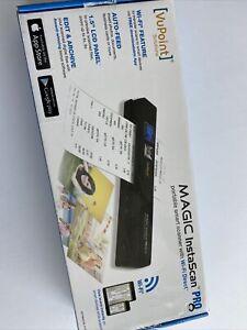 VuPoint Magic InstaScan Pro Wi-Fi Portable Smart Scanner - Open Box