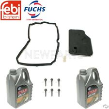 MB W203 W211 Transmission Filter Kit Automatic Transmission Fluid & Pan Bolts