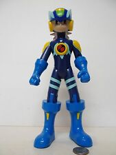"MegaMan NT Warrior Mega Man CrossFusion 10"" Electronic Figure Talking !!! RARE"