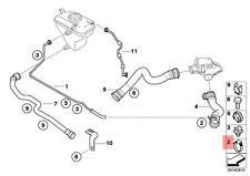 Genuine BMW 89V2 89V3 E31 Radiator Cooling Hose Clamp x10 pcs OEM 34321156893