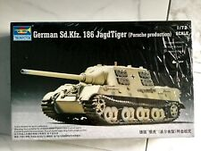 07273 Trumpeter Model Armored Car DIY 1/72 Sd.Kfz.186 Porsche Tank Destroyer