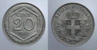 20 CENT. 1918 ESAGONO VITT. EMANUELE III REGNO D'ITALIA