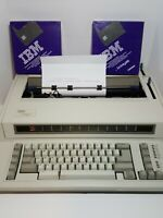 IBM Wheelwriter 1000 By Lexmark Electric Typewriter 6781-022 Tested. W/Ribbons.