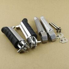 Front & Rear Footrests Foot Pegs For Honda CB1300F CB1300S CBR600F CBR1100XX