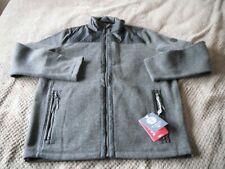 "Tog 24 Mega wool blend fleece grey full zip size L 24"" p2p BNWT"
