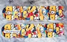 5 X PAIRS KIDS SIZE 11 - 4 OFFICIAL LICENSED MINION SOCKS FROM UNIVERSAL STUDIOS