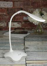 USB LED a bassa potenza collo di cigno TIPO LAMPADA DA TAVOLO ELETTRONICA Gioielli Riparazione Bianco