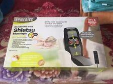 HOMEDICS 3D SHIATSU BACK MASSAGER HEAT VIBRATION SBM-400HX-GB