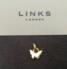 Links of London 18ct Yellow Gold Vermeil Butterfly Charm RRP £45