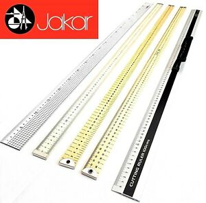 "1 Meter Ruler 40"" Yard Stick Measure Metal Wooden School Carpenter Rule"