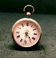 Antique Silver Pocket  Keywind Watch Possibly Birmingham 1883