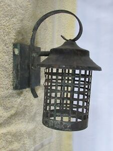 Rustic Porch Light Farm Light for Restoration, Shabby, Reclaimed