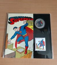 Canada Lenticular Coin and Stamp Set - Superman™: Then and Now (2013)